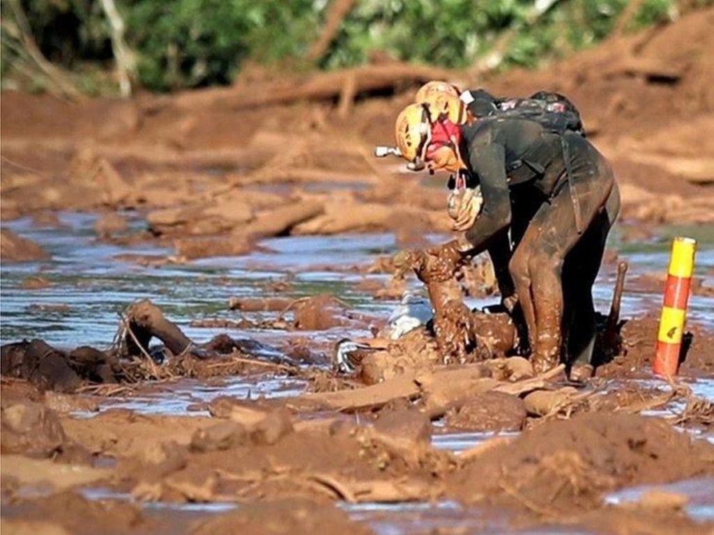 Bendungan Brasil Jebol, Tipis Harapan Temukan Ratusan Korban Hilang