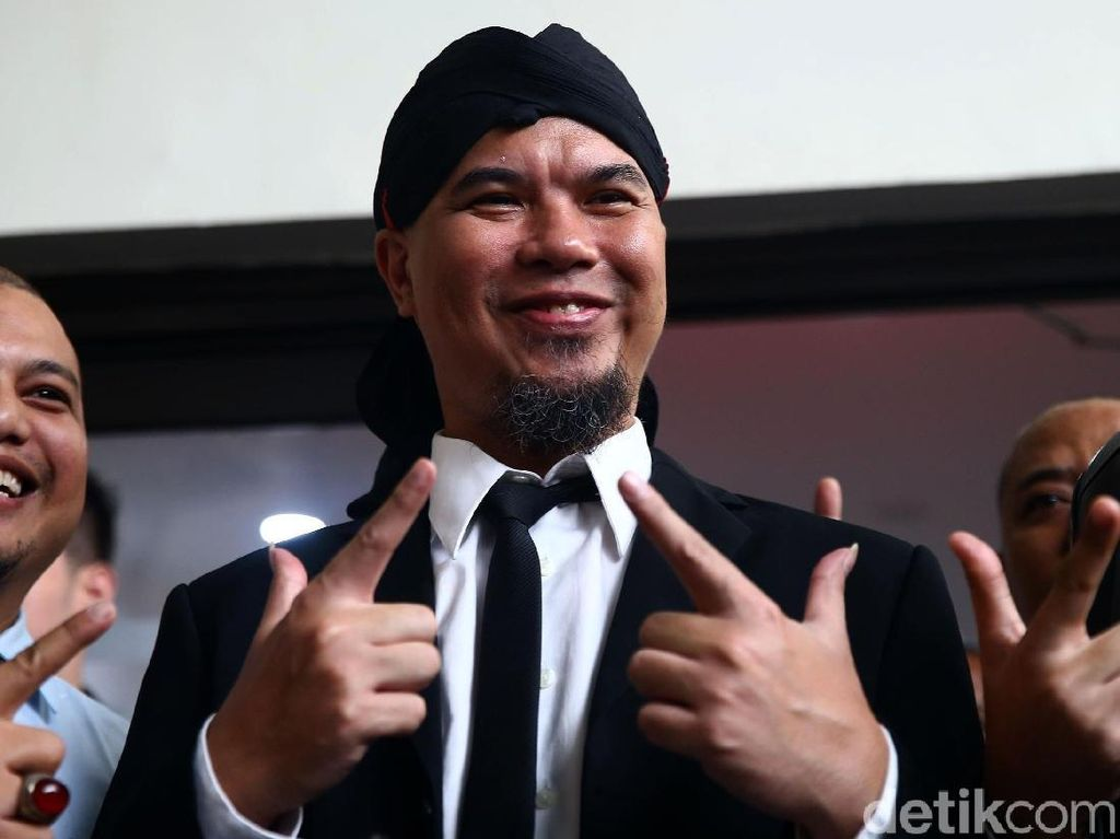 Divonis 1,5 Tahun Penjara, Ahmad Dhani Sudah di Rutan Cipinang