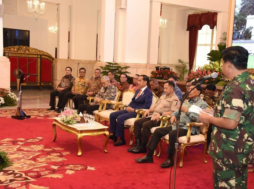 Pertemuan TNI-Polri di Istana, Ada Gatot Nurmantyo