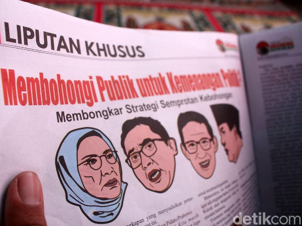 Agen Misterius Tabloid Indonesia Berkah
