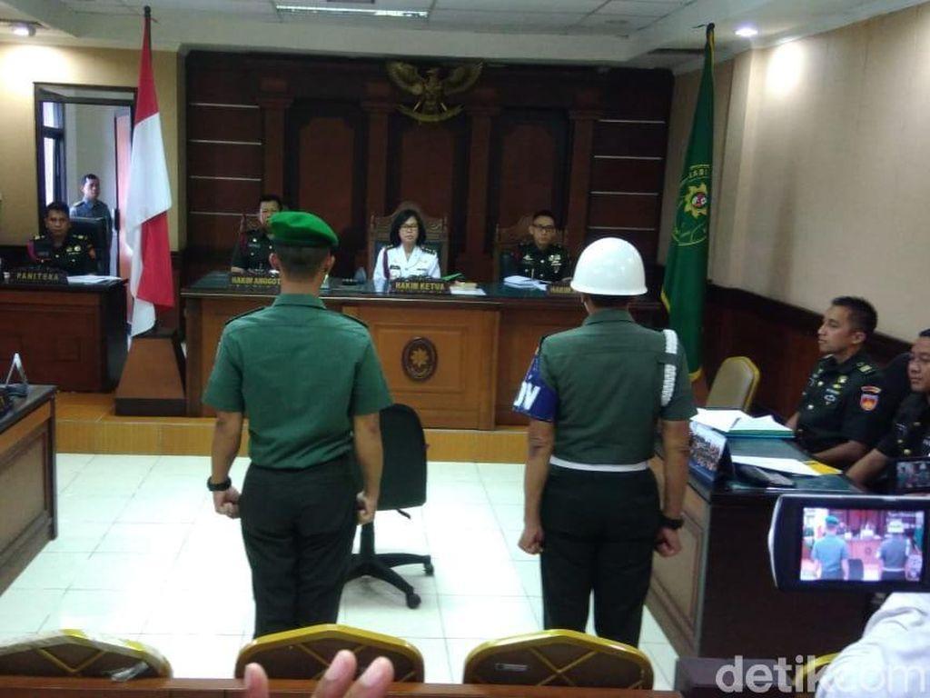 Tipu Wartawati, Oknum TNI Jalani Sidang di Pengadilan Militer
