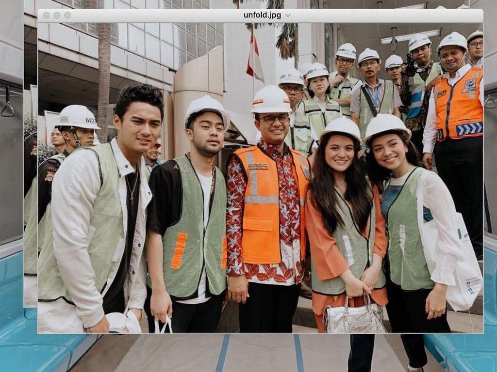 Coba MRT, Aksi Marsha Aruan dan Selebgram Lain Tuai Kecaman