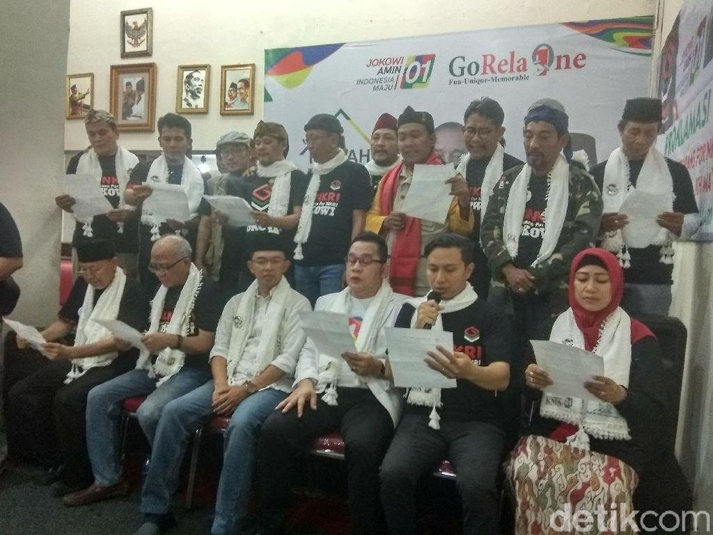 Komunitas Gontorians for NKRI Deklarasi Dukung Jokowi-Maruf Amin