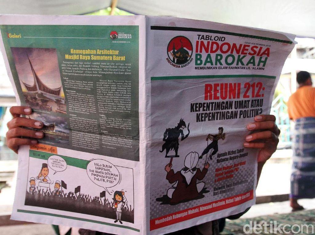 Tabloid Indonesia Barokah juga Tersebar di Jakarta