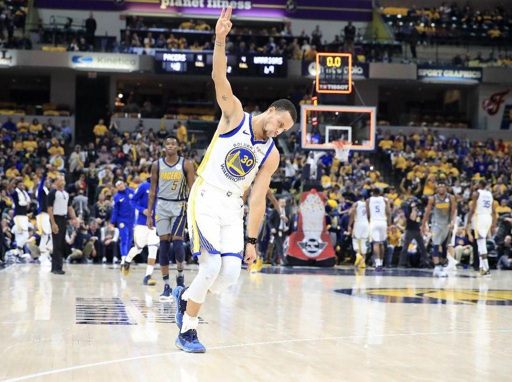 Bungkam Pacers, Warriors Raih 11 Kemenangan Beruntun