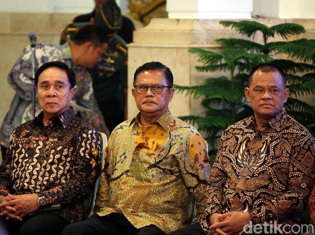 Bertemu Jokowi di Istana, Gatot Belum Tentukan Pilihan di Pilpres