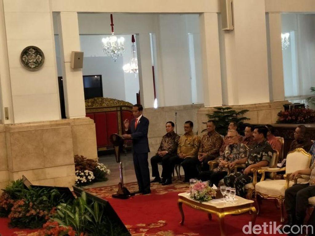 Ada Gatot Nurmantyo di Pertemuan Jokowi dengan Perwira Tinggi di Istana