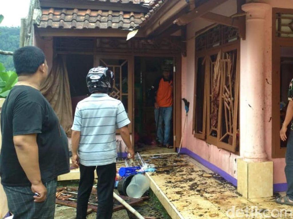 Balada Usep Dicerai Istri Lalu Ledakkan Rumah dengan Elpiji