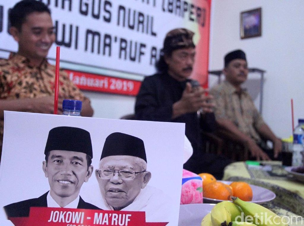 Baper Dukung Jokowi-Maruf
