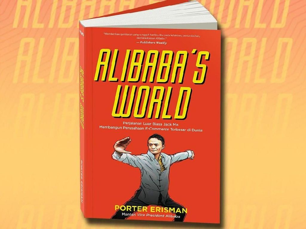 Buku Alibabas World Terbit di Indonesia