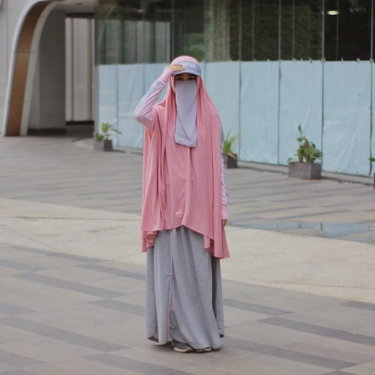 78 Gambar Arsiran Wanita Bercadar Kekinian