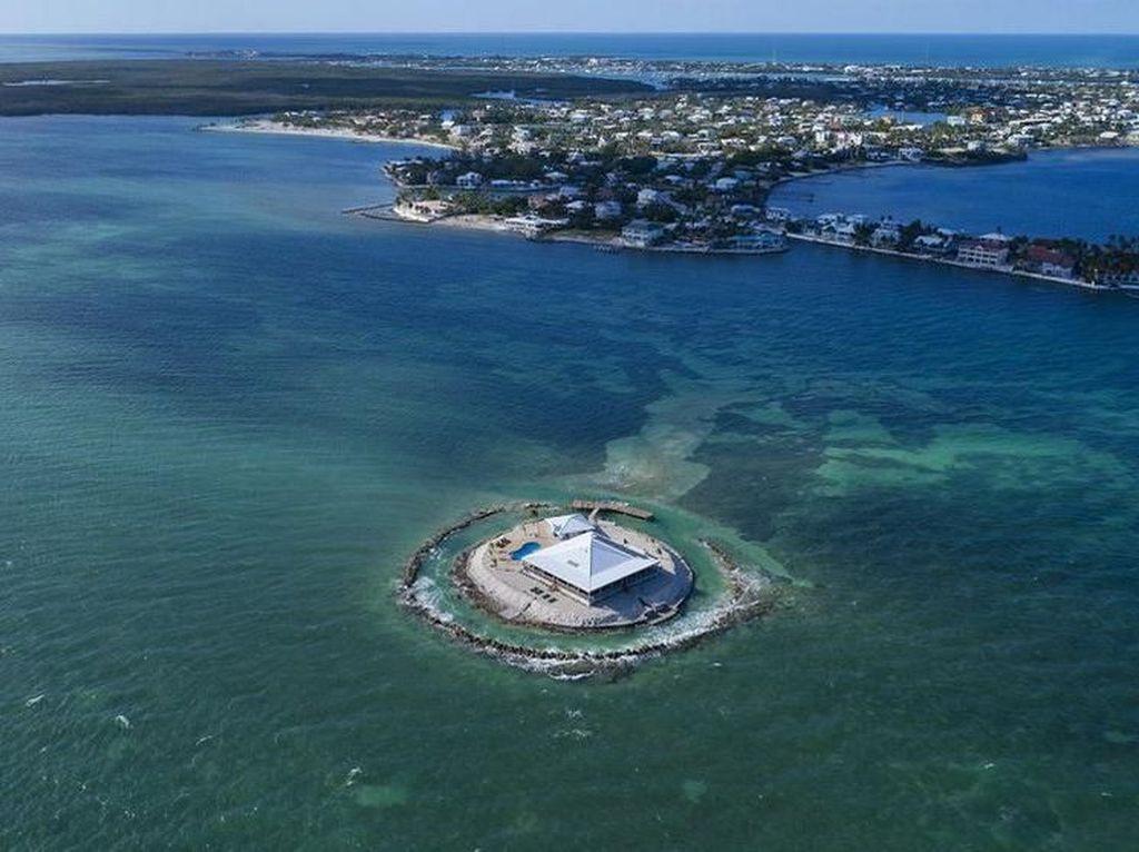 Indahnya Rumah di Pulau Pribadi Florida