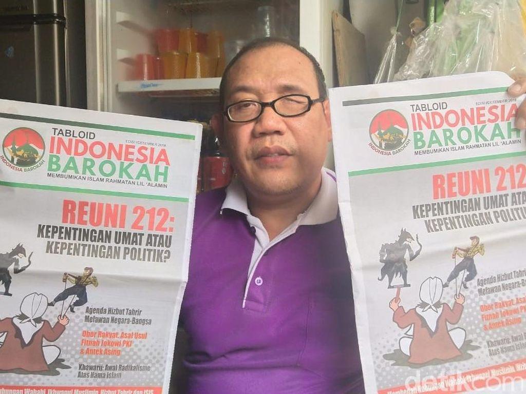 Pengurus Masjid di Cengkareng akan Bakar Tabloid Indonesia Barokah
