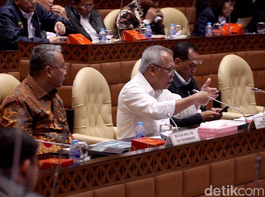 DPR Rapat Bareng Budi Karya dan Basuki Bahas Kesiapan Mudik