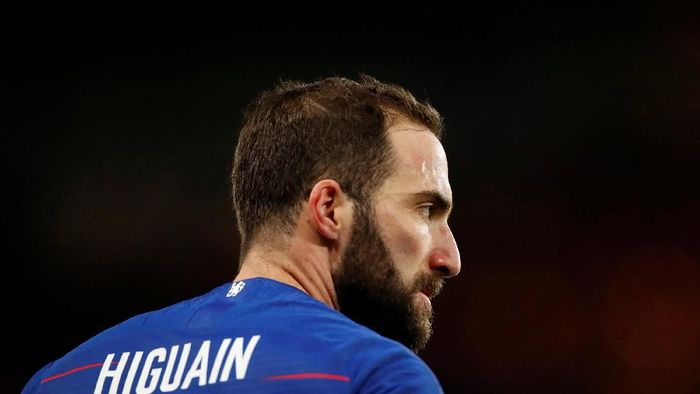 Gonzalo Higuain dinilai pemain mata duitan (Andrew Boyers/REUTERS)