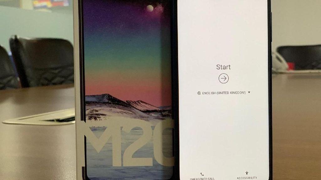 Melihat Galaxy M20 yang Sudah Lolos TKDN