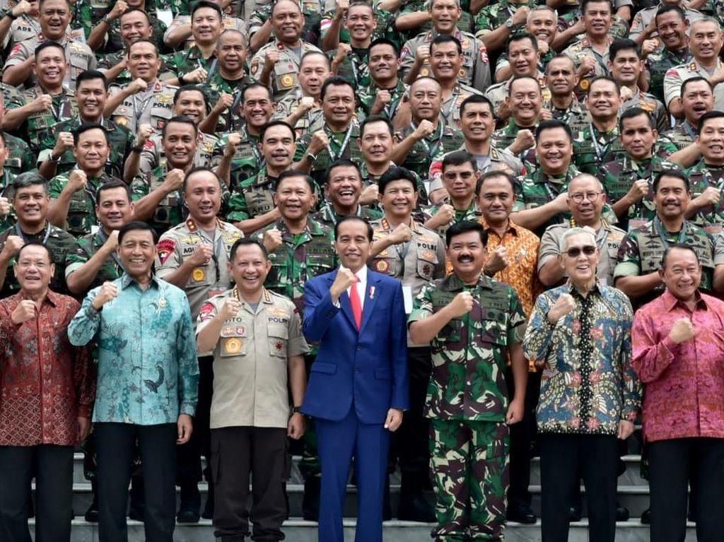 TNI Jelaskan 60 Pos Jabatan Bintang Baru untuk Pati TNI