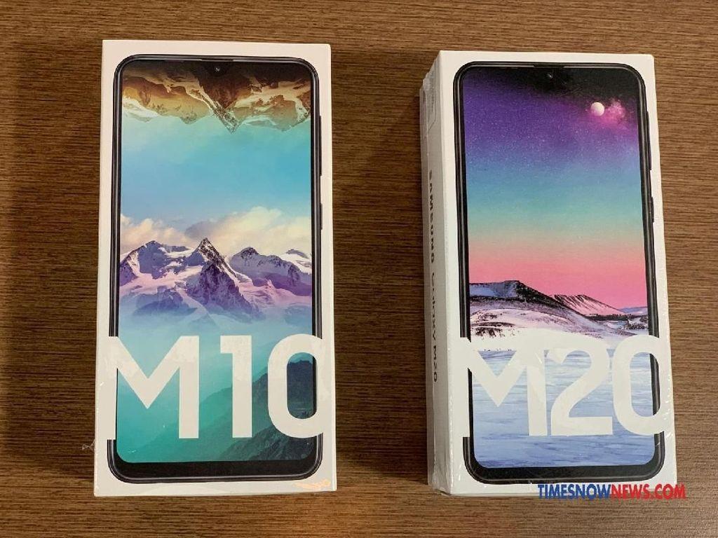 Spesifikasi Galaxy M10 dan M20, Ponsel Murah Pesaing Xiaomi
