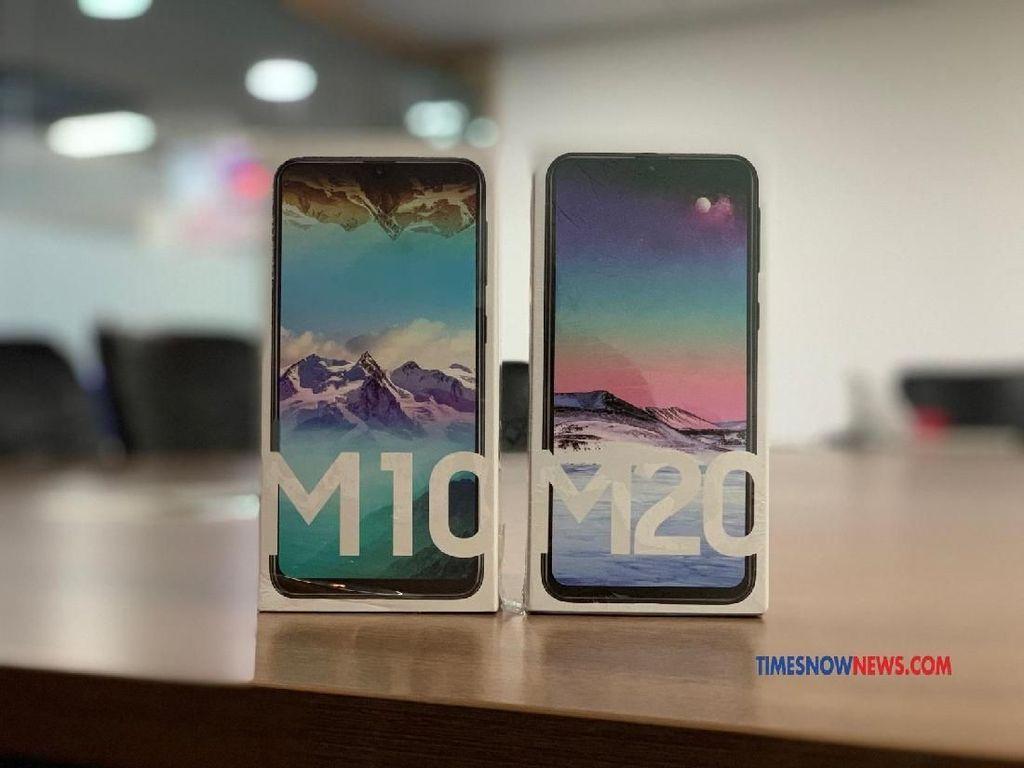 Samsung Klaim Galaxy M20 dan M10 Ludes Terjual