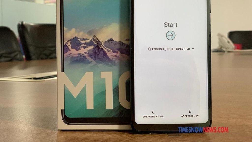Penampilan Perdana Ponsel Rp 1 Jutaan Galaxy M10
