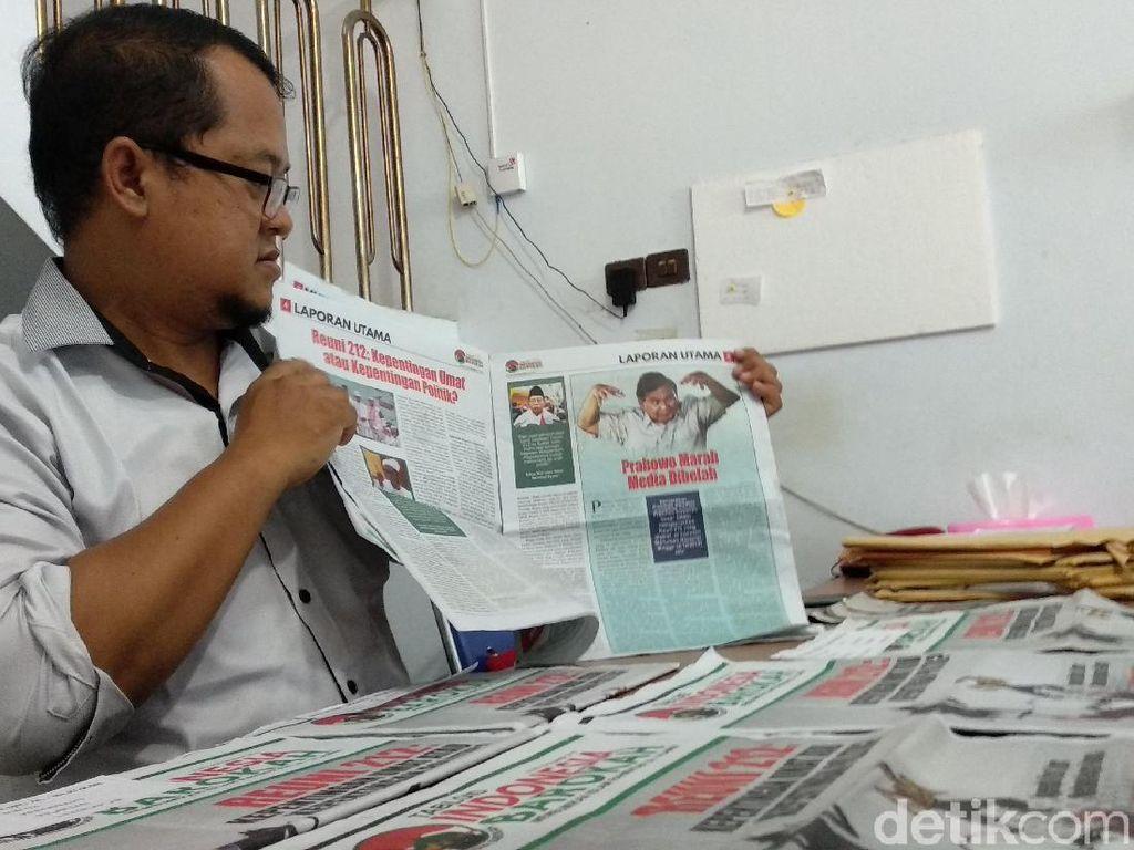 Ratusan Tabloid Indonesia Barokah Dikirim ke Cirebon Via Pos