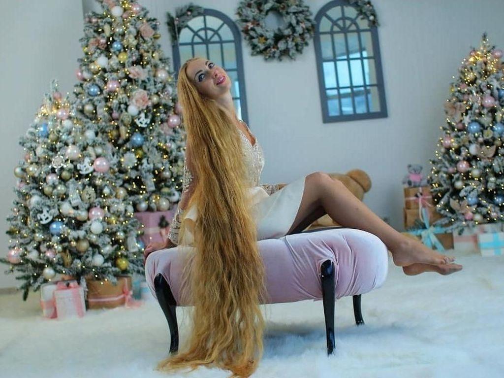 Potret Rapunzel di Dunia Nyata, Tak Gunting Rambut Selama 28 Tahun