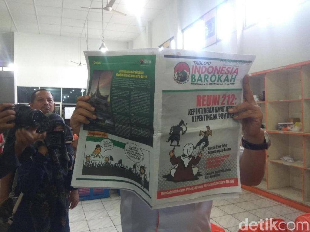 Polisi Masih Analisis Laporan BPN soal Tabloid Indonesia Barokah