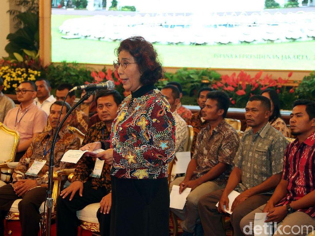 Susi Jelaskan soal Izin Tangkap Ikan yang Dikritik Jokowi