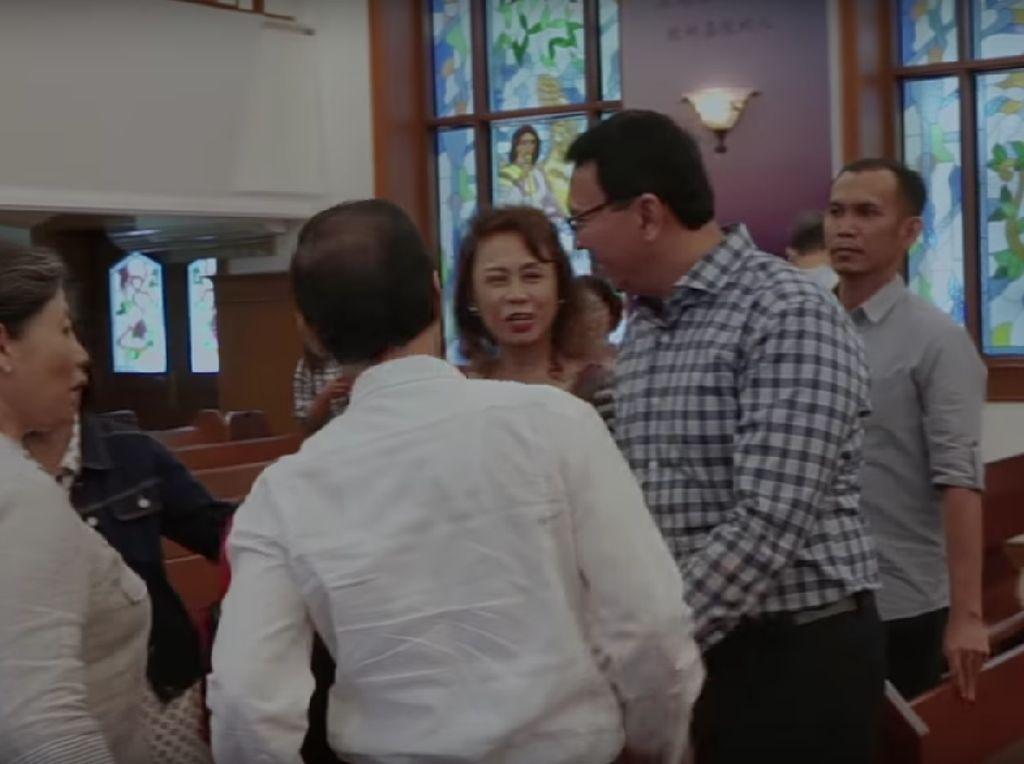 Ahok Ceritakan Pengalaman ke Gereja Lagi Usai Bebas
