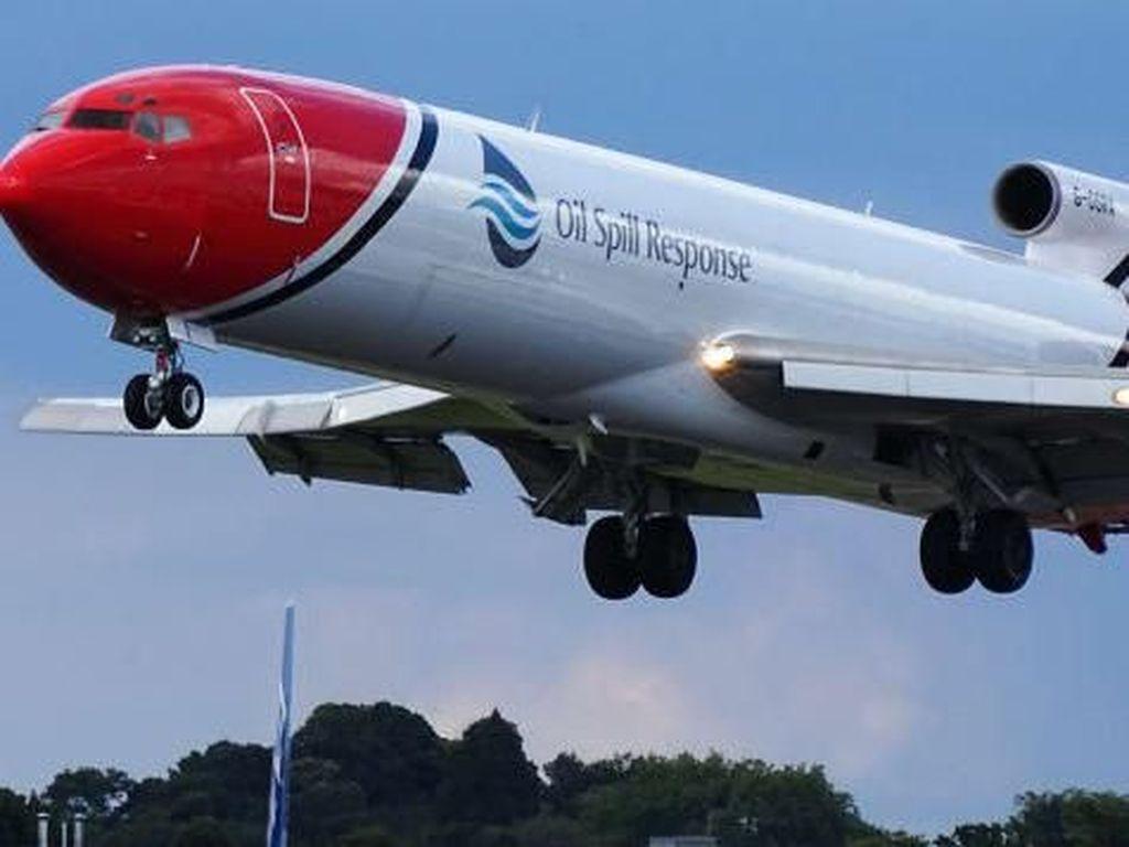 Potret Boeing 727 yang Terbang Terakhir Kalinya