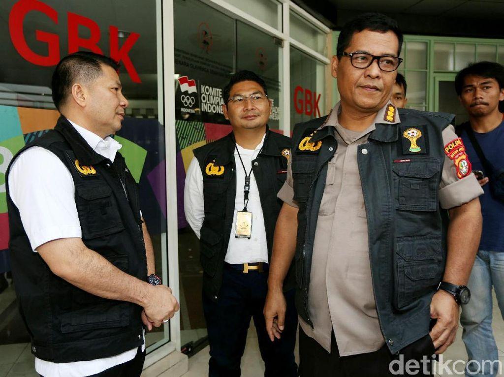 Polisi Jelaskan Penggeledahan Kantor PSSI