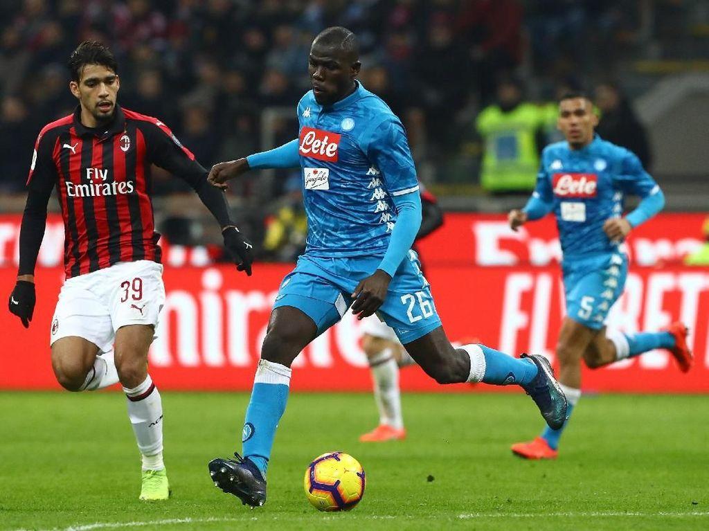Serangan Balik Milan Memukul Napoli