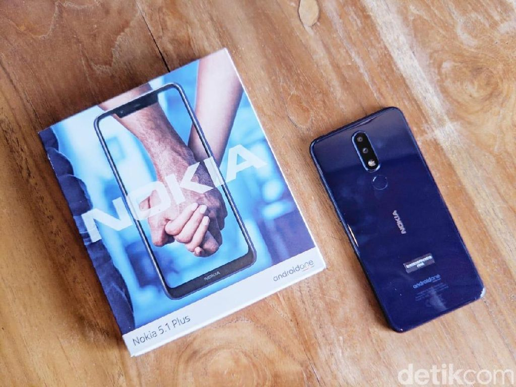 Unboxing Nokia 5.1 Plus, Ponsel Android Polosan Rp 2 Jutaan