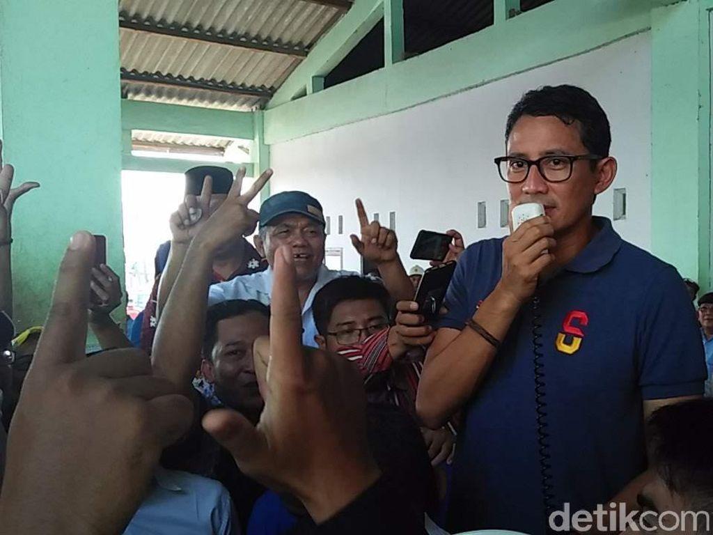 Dukung Rencana Eskpor Tempe, Sandi Singgung Defisit Neraca Perdagangan