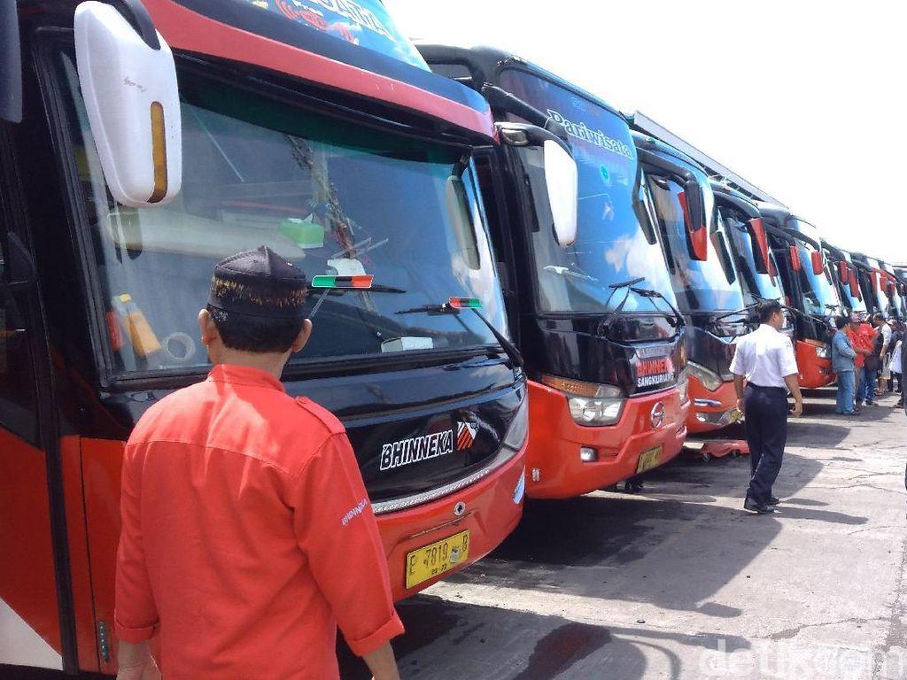 Banyak PO Bus di Cirebon Tak Sesuai Aturan Menhub