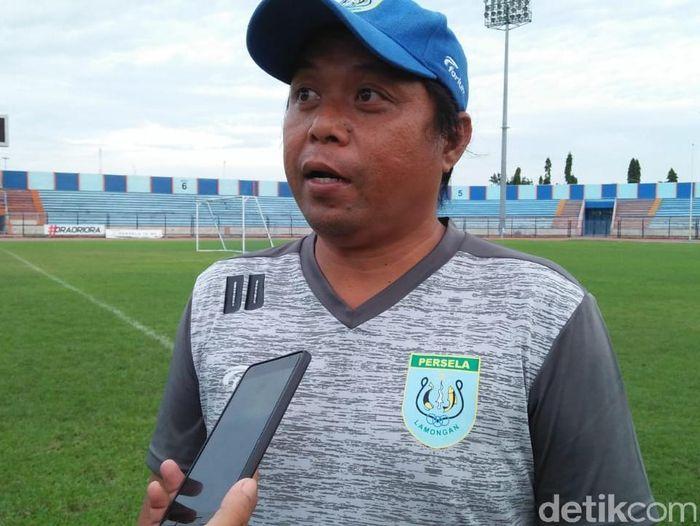 Asisten pelatih Persela Lamongan, Danur Dara. (Foto: Eko Sudjarwo/Detikcom)