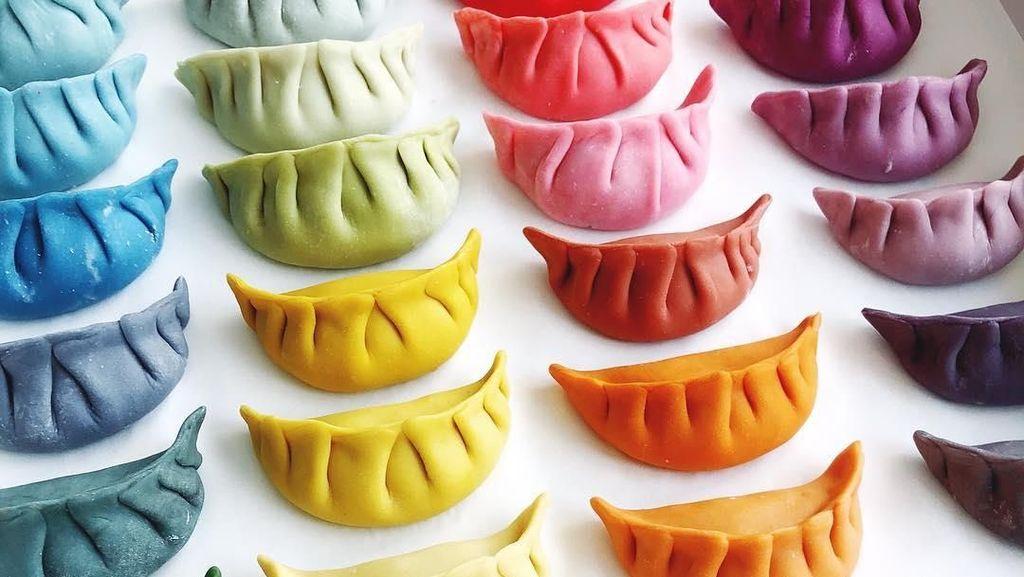 Bikin Ngiler! Cantiknya Dumpling Warna-warni Buatan Chef Brendan Pang