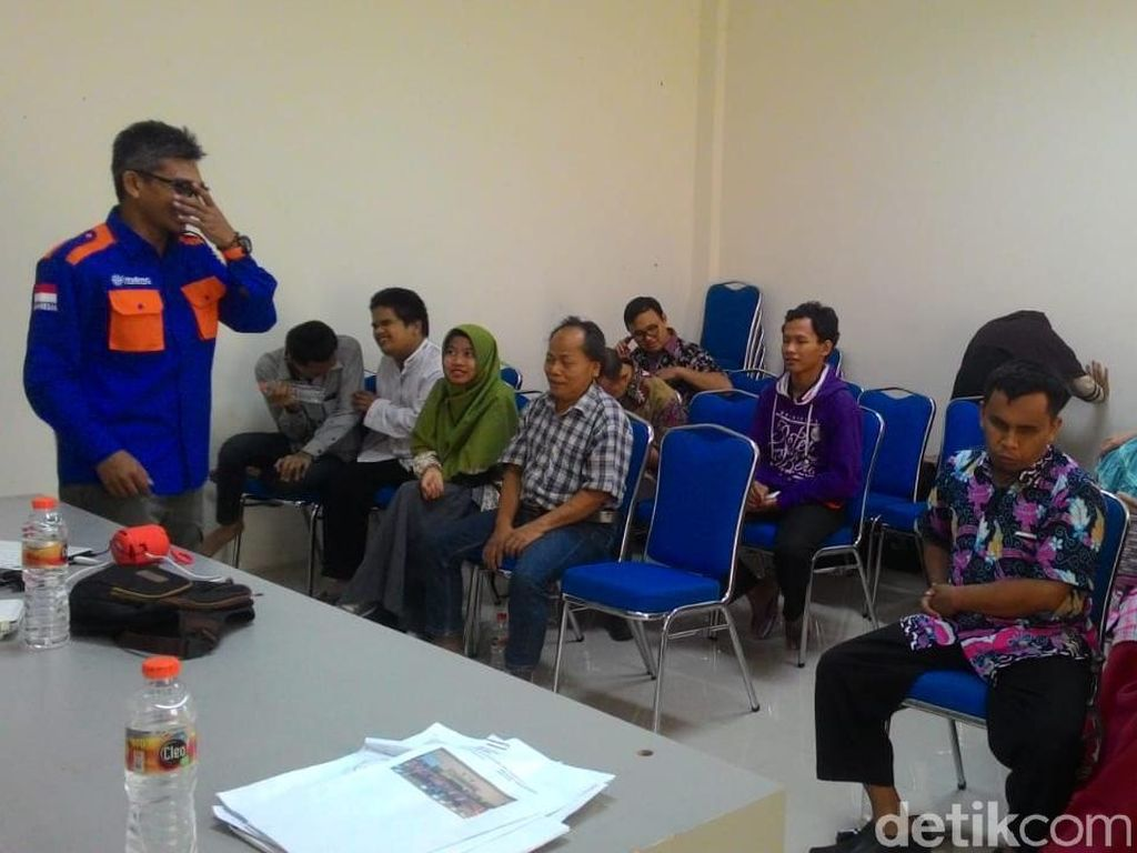 Penyandang Disabilitas di Lamongan Dilatih Evakuasi Saat Bencana