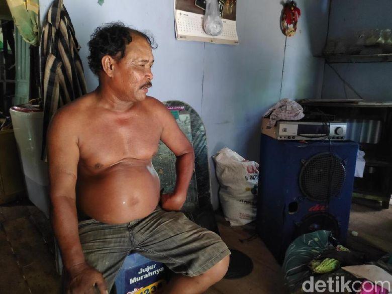 Ilyas Pria Berlumpur Ngaku Dijanjikan Bantuan oleh Sandiaga