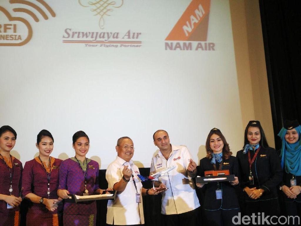 Sriwijaya Air Resmi Luncurkan In-flight Entertainment Baru