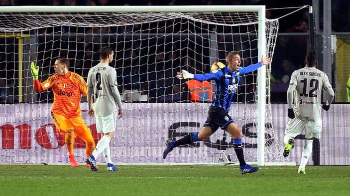 Atalanta akan menghadapi Juventus akhir pekan ini (Massimo Pinca/Reuters)