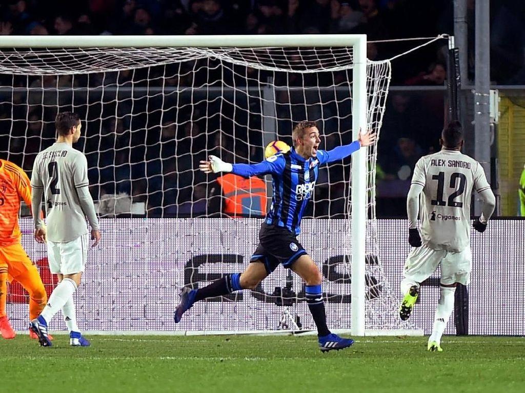 Hasil Coppa Italia: Juventus Disingkirkan Atalanta