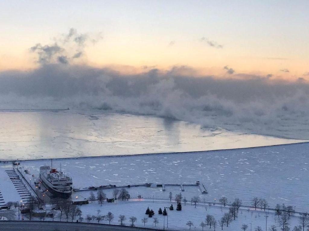 12 Orang Tewas Akibat Cuaca Ala Kutub di Amerika