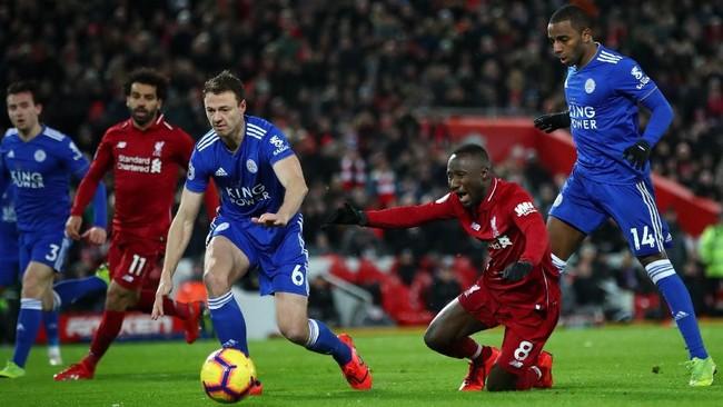 Leicester City tidak takut dengan superioritas Liverpool. (Foto: Clive Brunskill/Getty Images)