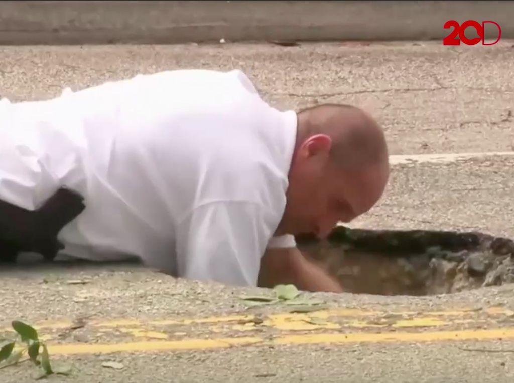 Video: Ada Terowongan Misterius Mengarah ke Bank, FBI Turun Tangan
