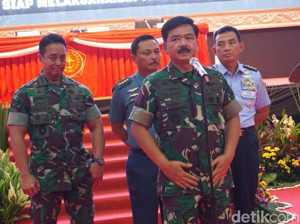 Tutup Rapim TNI, Panglima Prioritaskan KKSB Papua hingga Pemilu 2019
