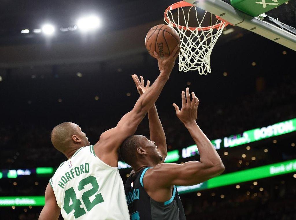 Hasil NBA: Minus Irving, Celtics Gilas Hornets 126-94