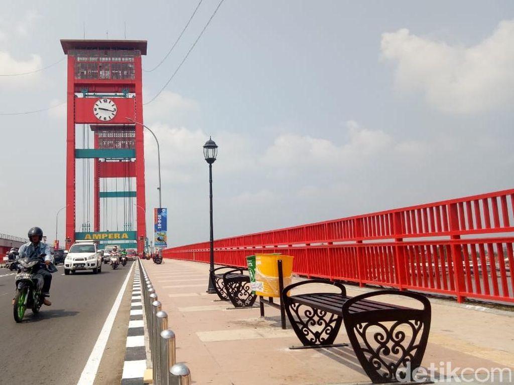 Jokowi Kampanye di Palembang, Banyak Destinasi Menarik di Sana