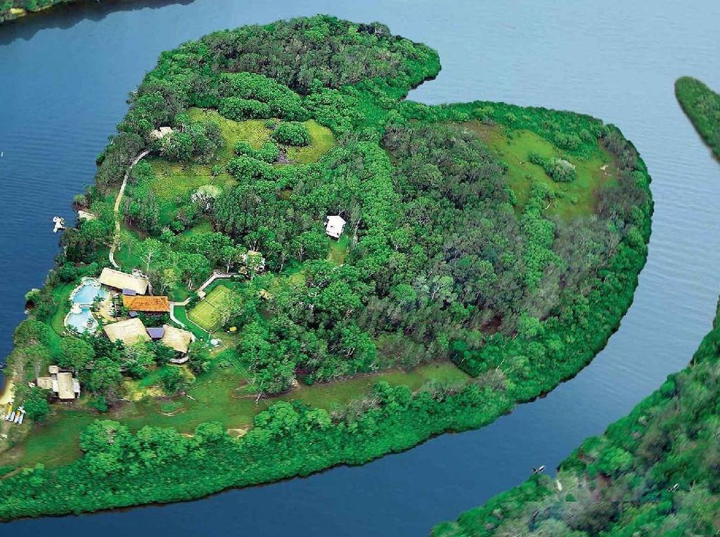 Foto: Pulau Eksklusif Bos Virgin Atlantic di Australia