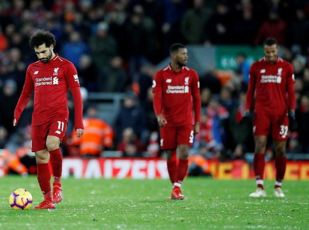 Liverpool Terpeleset karena Gugup